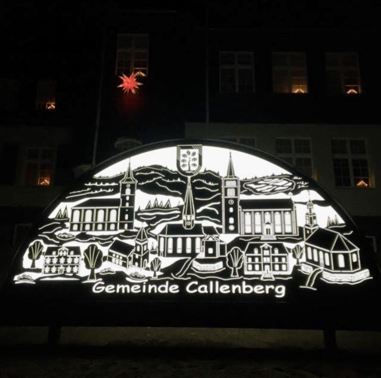 Schwibbogen Gemeinde Callenberg